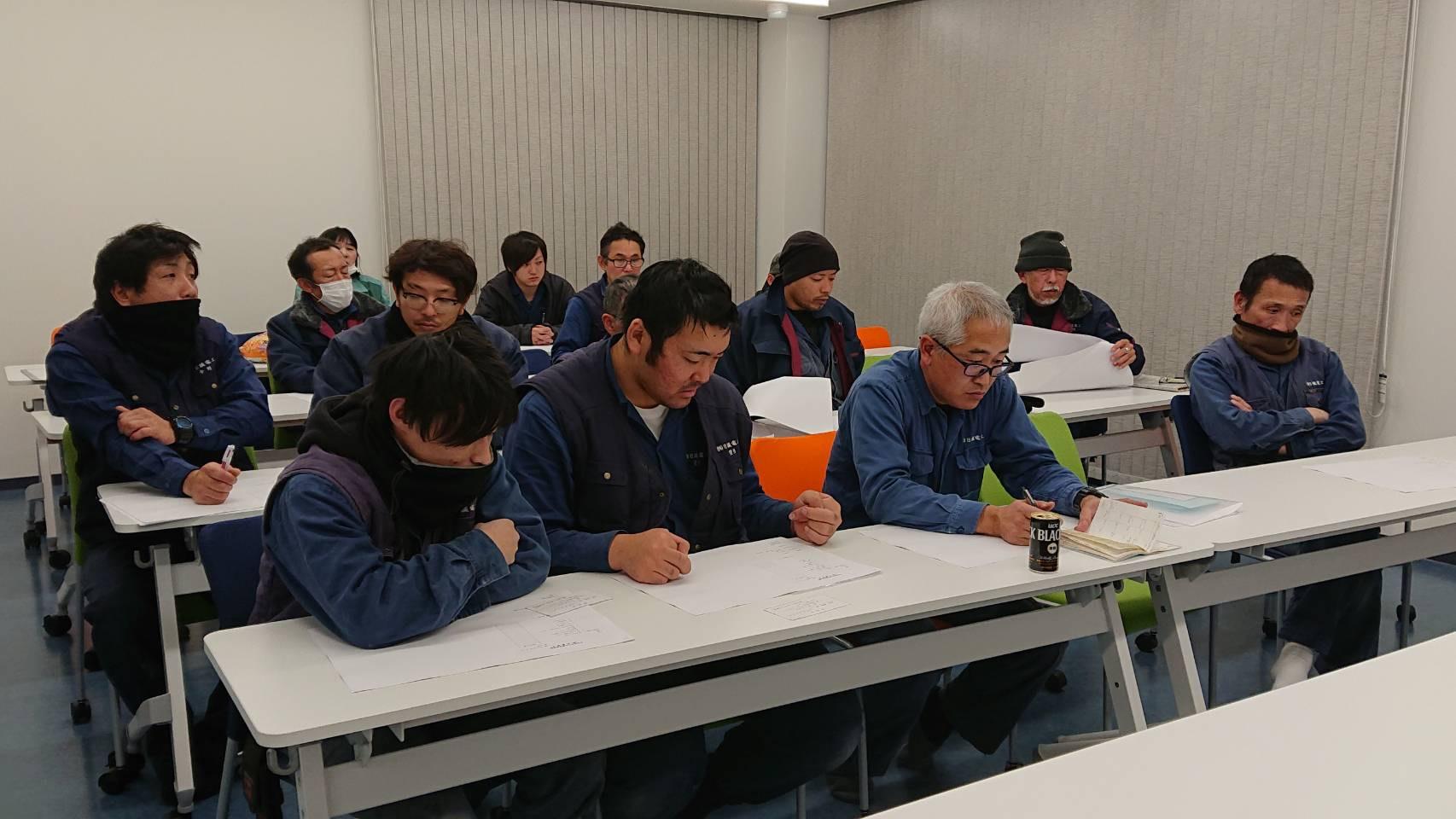 日誠電工2019年12月定例会議_スタッフ写真